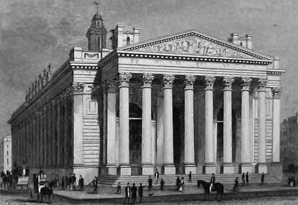 1844 – Royal Exchange, London