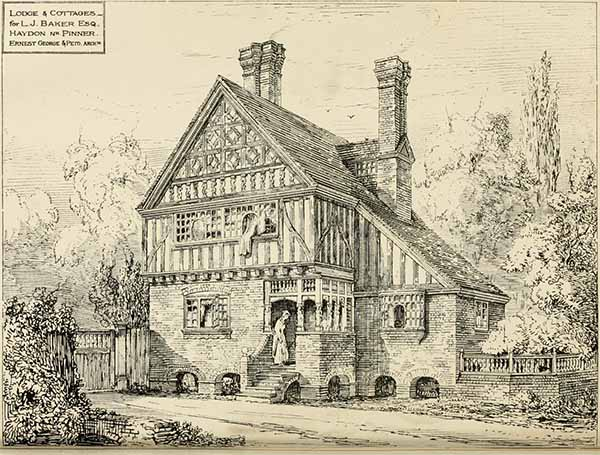 1880 – Lodge, Pinner, London