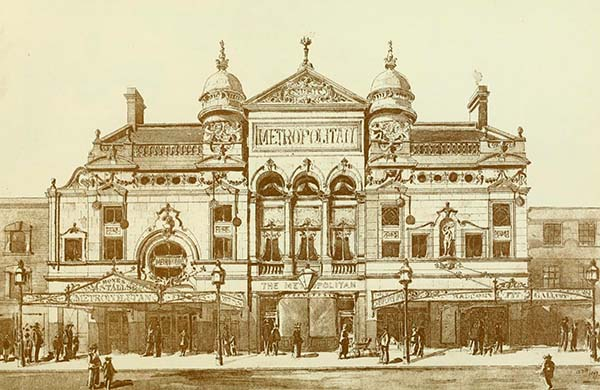 1898 – The Metropolitan Music Hall, Paddington, London