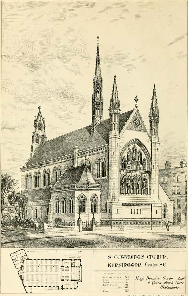 1887 – St. Cuthbert's Church, Kensington, London