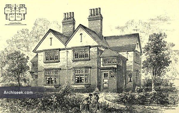 1881 – Cottages, Clapham Park, London
