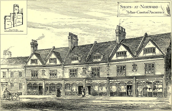 1881 – Shops, Norwood, London