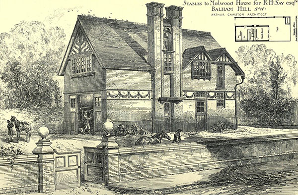 1881 – Stables, Balham Hill, London