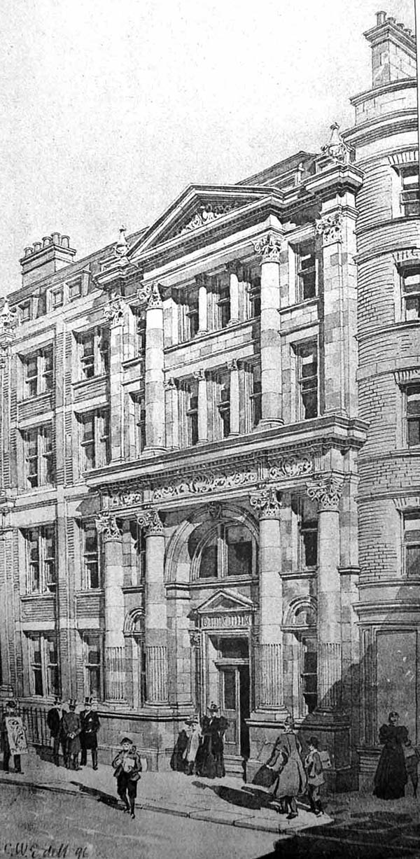 1897 – Bush Lane House, Cannon St., London