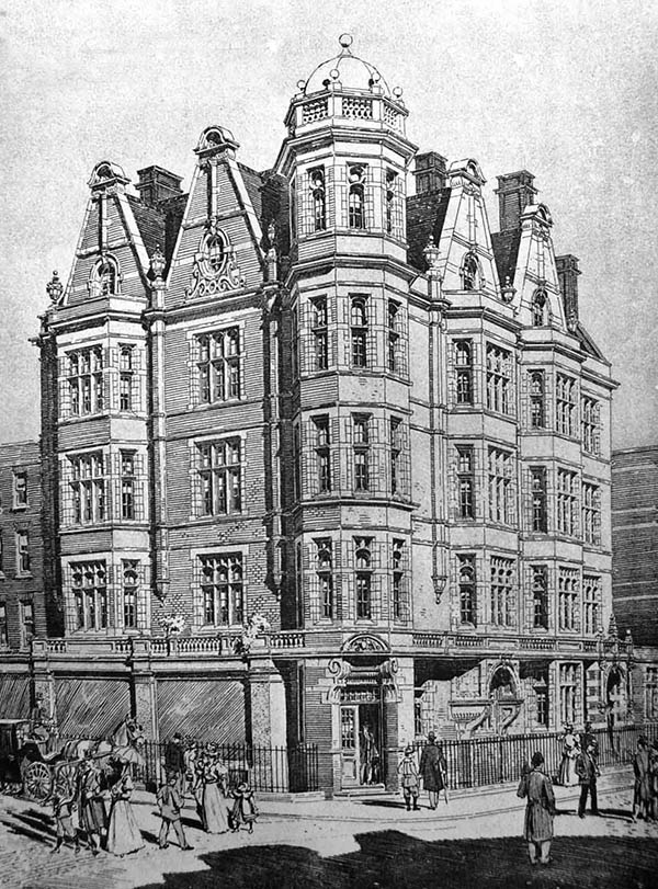 1897 – Residential Flats, Green St., London
