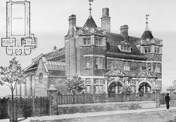 1898 – Public Baths, Romford, London