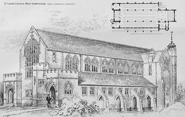 1898 – St. Luke's Church, West Hampstead, London