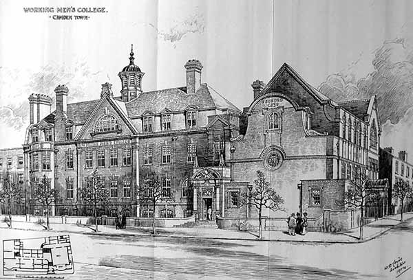 1906 – Working Mens College, Camden, London