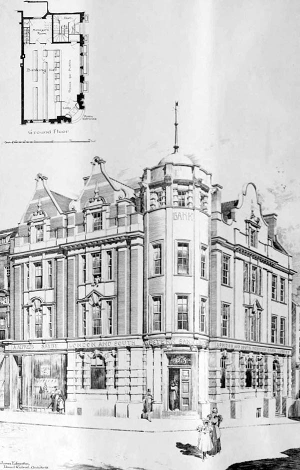 1898 – London & South Western Bank, Kilburn, London