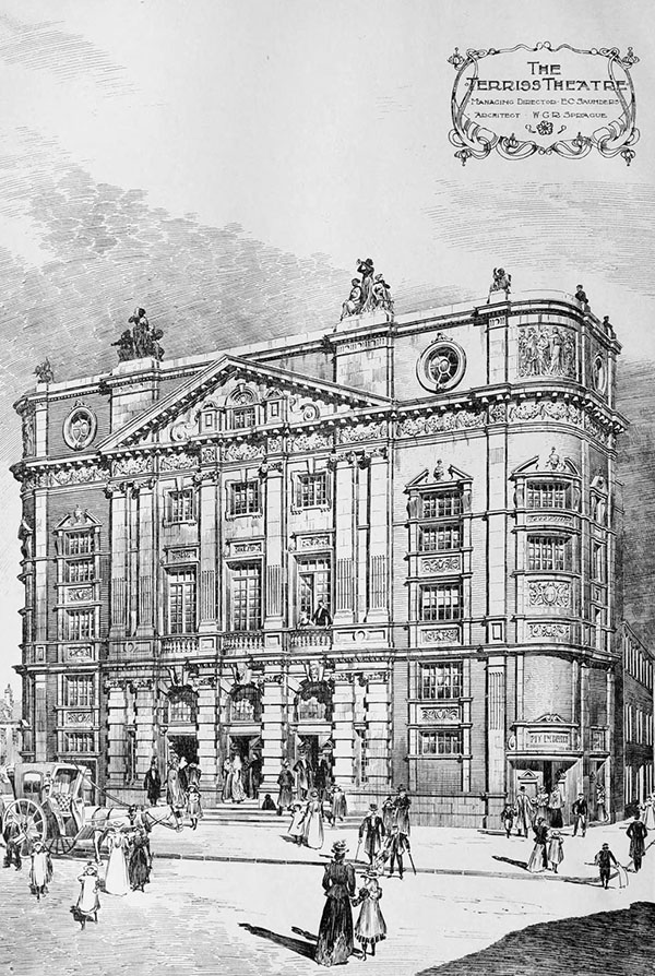 1899 – Terriss Theatre, Rotherhithe, London