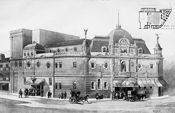 1899 – Theatre of Varieties, Kilburn, London