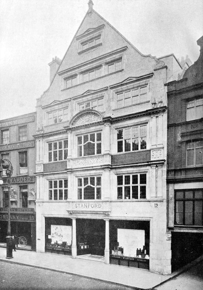 1901 – Stanfords, Long Acre, London