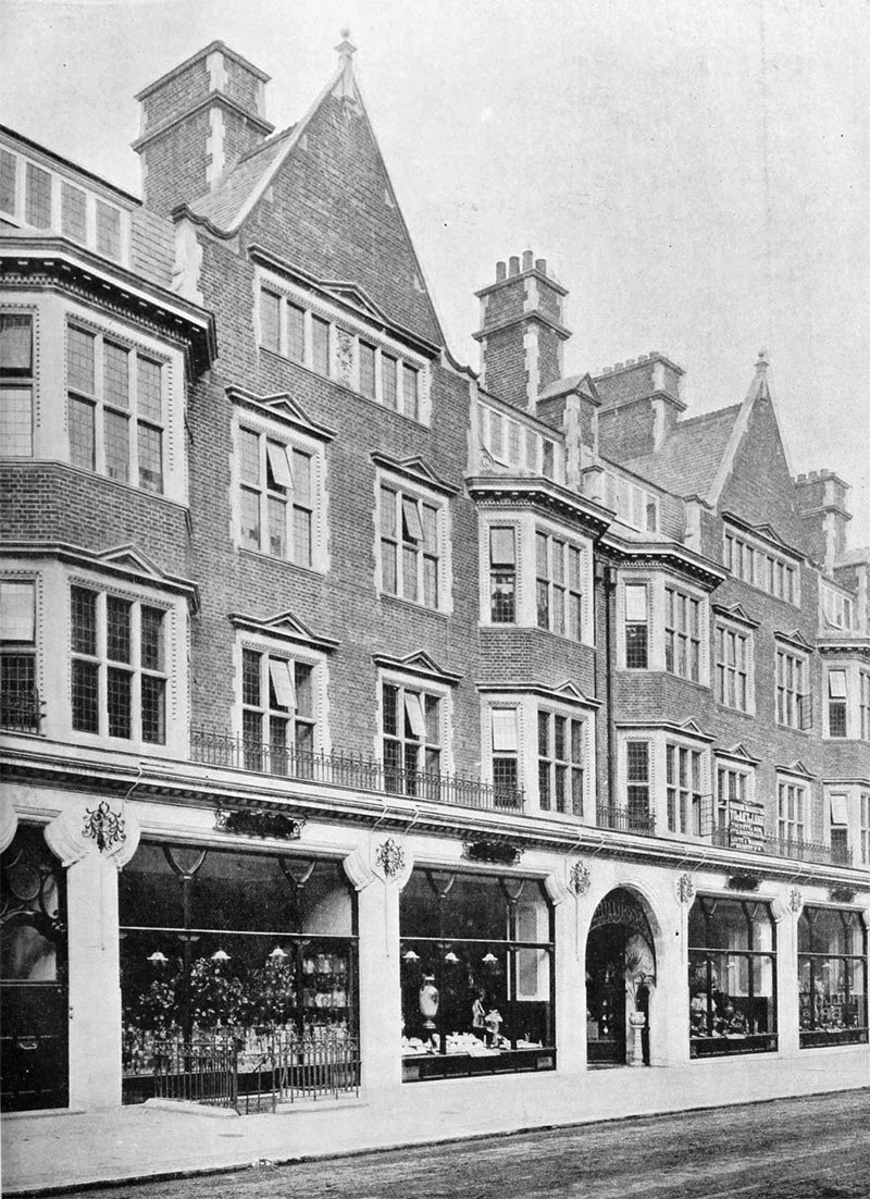 1901 – Business Premises, Mount St., London