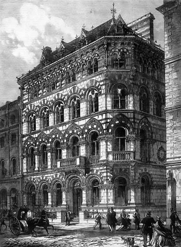 1865 – Crown Life Assurance, Fleet Street, London