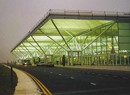 1991 – Stansted Airport, London