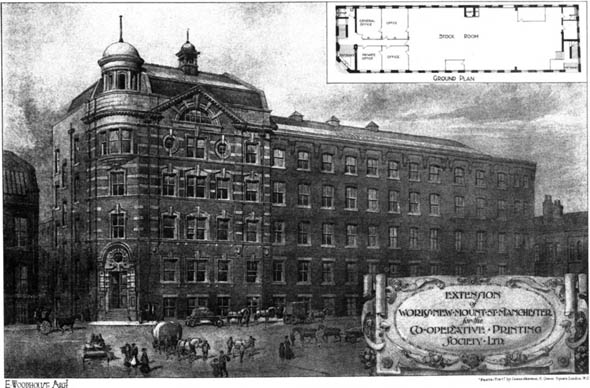 1906 &#8211; Co-operative Printing Society, Mount Street, Manchester, Lancashire