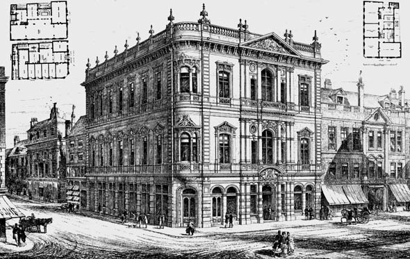 1875 &#8211; Manchester Conservative Club House, Lancashire
