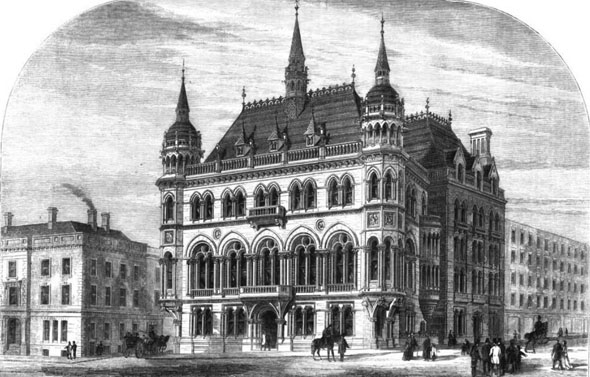 1870 &#8211; Manchester Reform Club, Lancashire