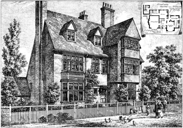 1886 &#8211; &#8216;Stoneacre&#8217;, Swinton, Manchester, Lancashire