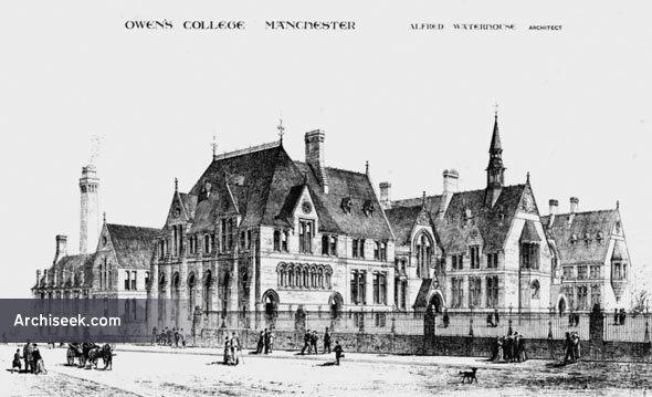 1874 – Owens College, Manchester, Lancashire