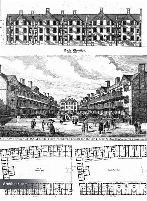 1893 – Artisans Dwellings, Salford, Manchester