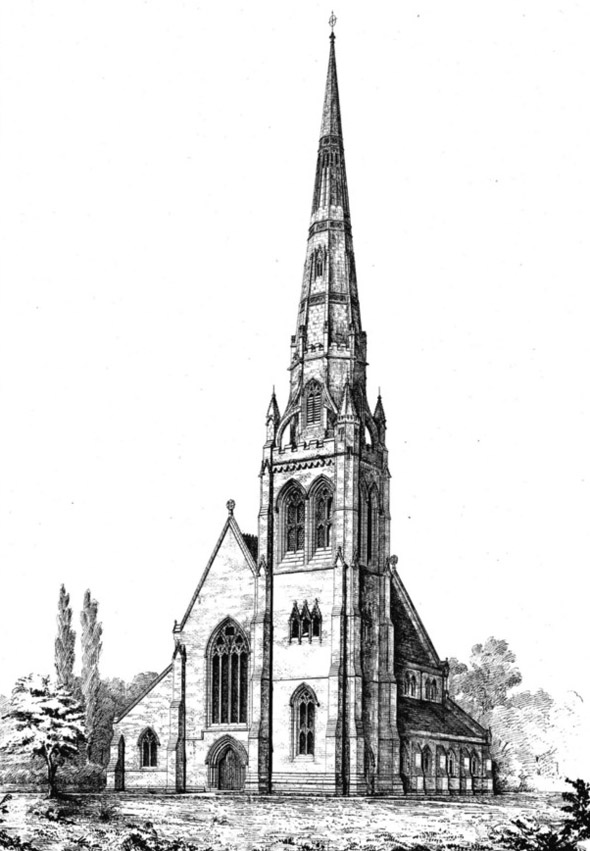 1846 &#8211; Platt Church, Manchester, Lancashire