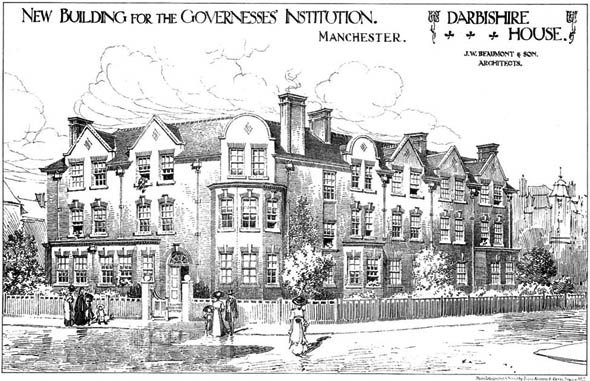 1910 – The Governesses' Institution, Darbishire House, Manchester, Lancashire