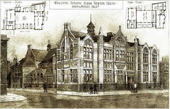 1908 – Wesleyan Sunday School, Newton Heath, Manchester