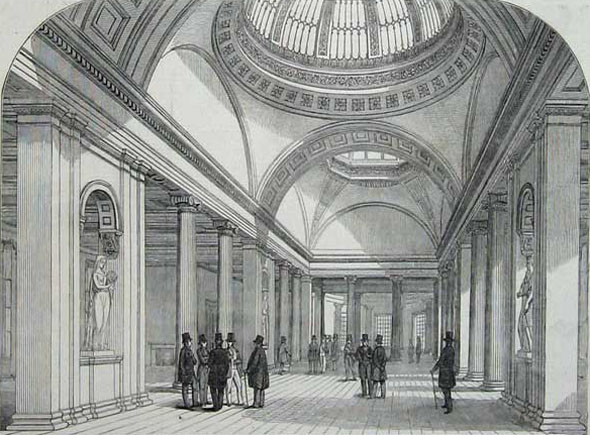 1874 – Royal Exchange, Manchester, Lancashire