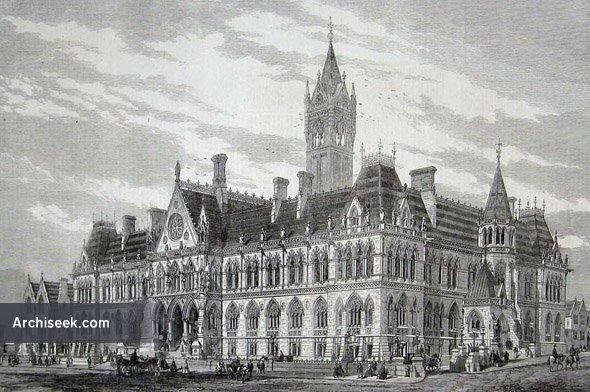 1864 – Assize Courts, Manchester, Lancashire