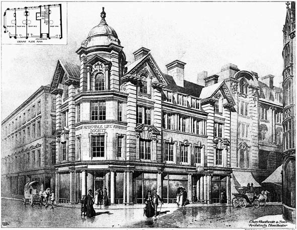 1904 &#8211; Scottish Amicable Life Assurance Society, Manchester, Lancashire