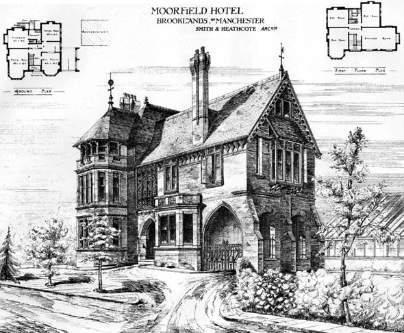 1878 – Moorfield Hotel, Brooklands, Manchester, Lancashire