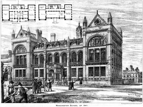 1878 &#8211; Manchester School of Art, Lancashire