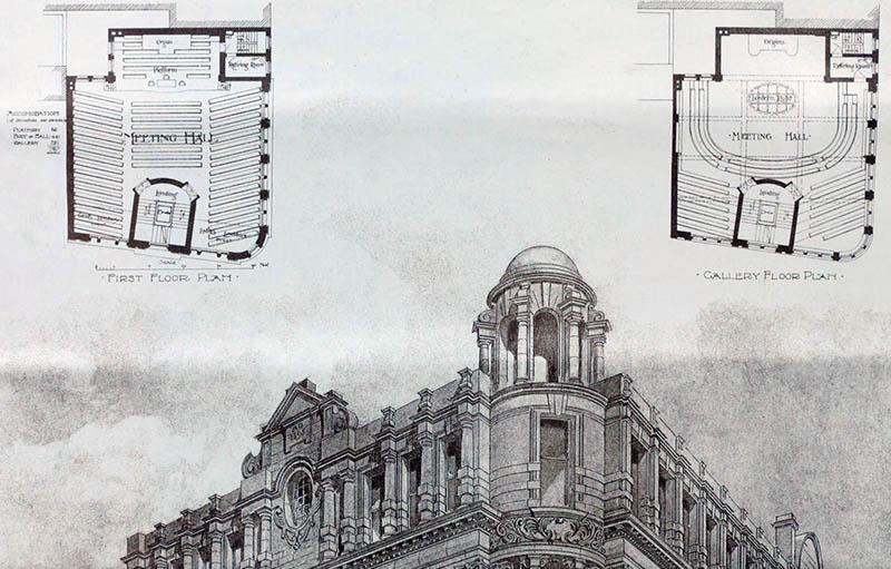 1899 – Mission Building, Manchester, Lancashire