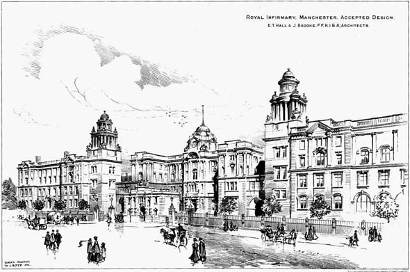 1904 – Royal Infirmary, Manchester, Lancashire