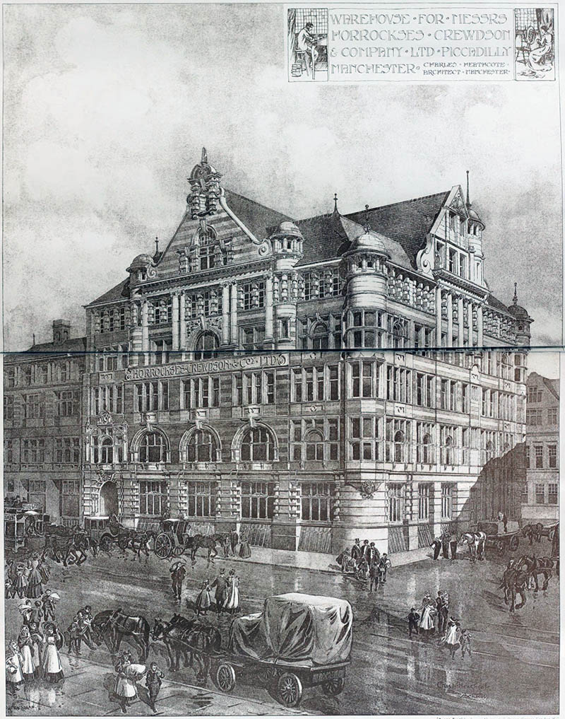 1898 – Horrockes, Crewdon & Co, Piccadilly, Manchester