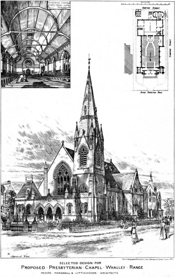 1885 – Presbyterian Chapel, Whalley Range, Manchester
