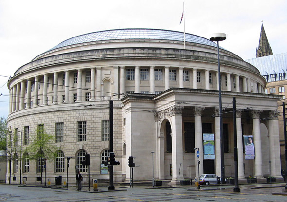 1934 &#8211; Manchester Central Library