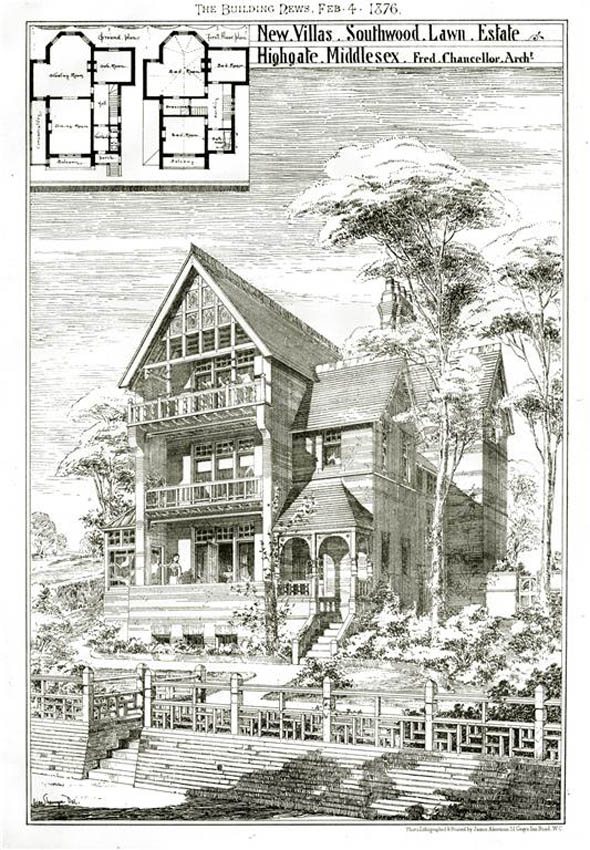 1876 – Southwood Lawn Estate, Highgate, London