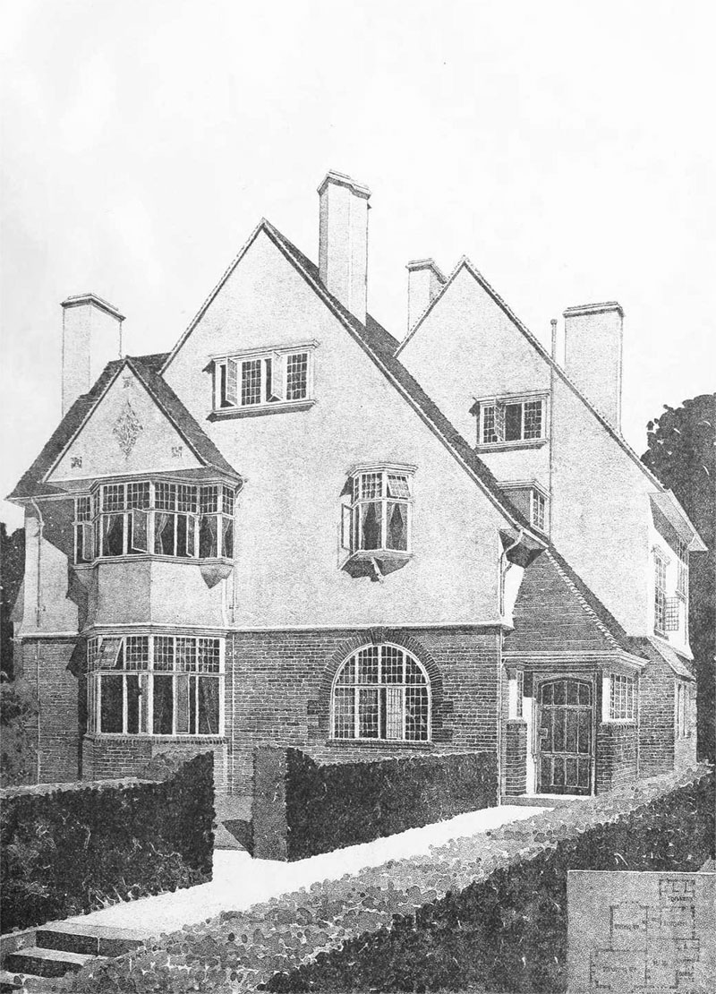 1901 – House at Pinner, Middlesex