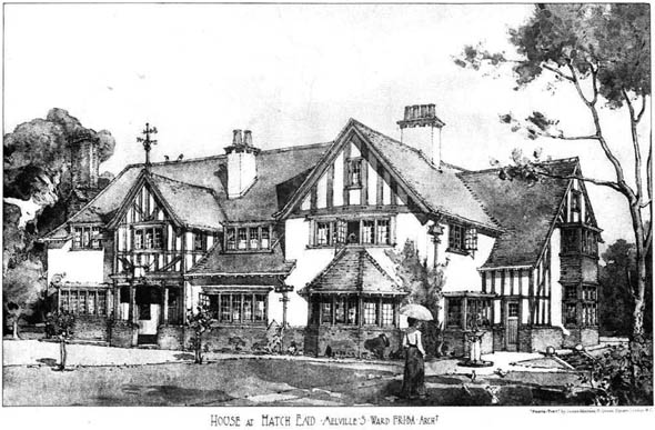 1903 &#8211; House at Hatch End, Harrow, London