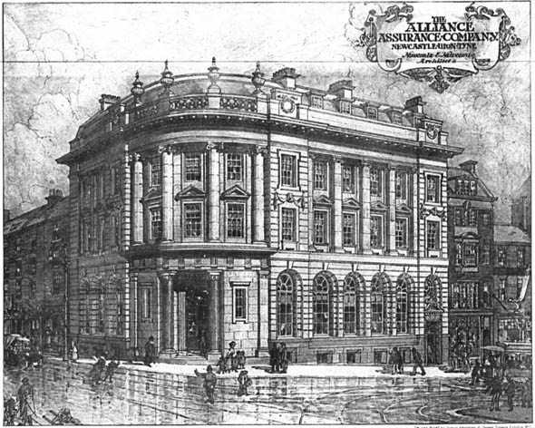 1910 &#8211; The Alliance Assurance Company, Newcastle upon Tyne