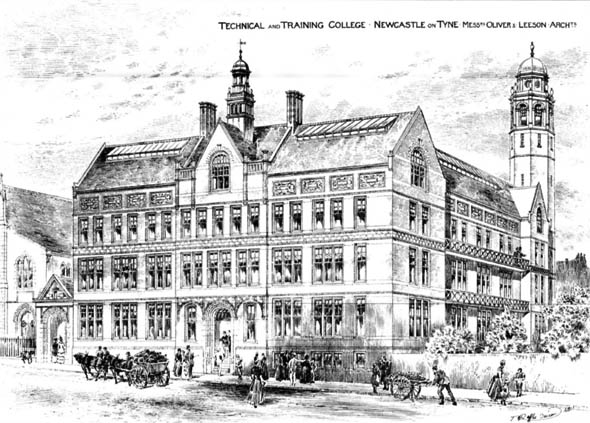 1888 &#8211; Technical &#038; Training College, Newcastle upon Tyne