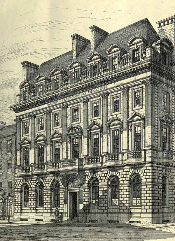 1881 &#8211; The Northern Assurance Company, Newcastle upon Tyne