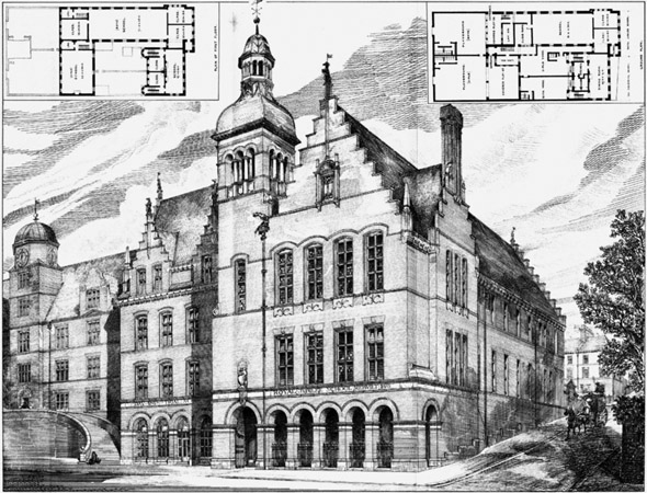 1883 &#8211; Royal Jubilee School, Newcastle upon Tyne