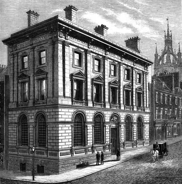 1872 &#8211; National Provincial Bank of England, Newcastle upon Tyne
