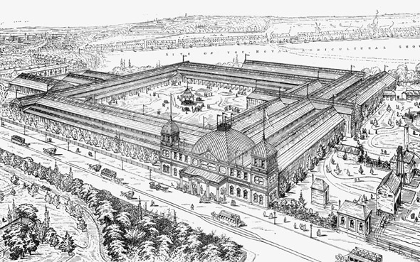 1887 – Jubilee Exhibition, Newcastle upon Tyne