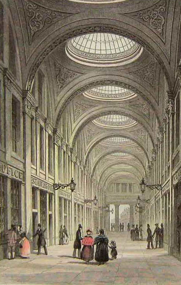 1832 &#8211; Royal Arcade, Newcastle upon Tyne
