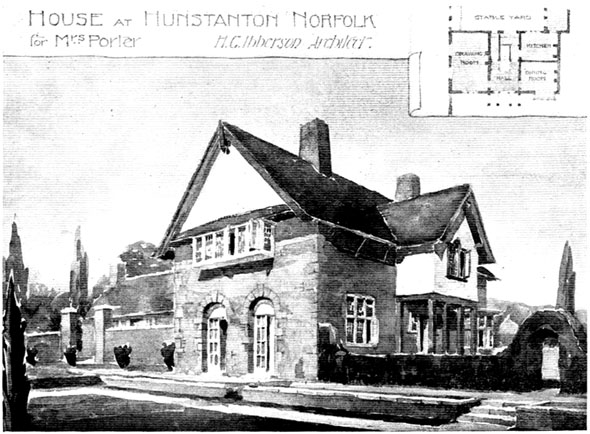 1900 – House, Hunstanton, Norfolk