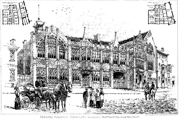 1896 &#8211; Municipal Buildings, Kings Lynn, Norfolk